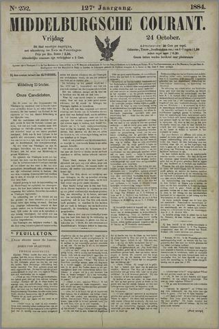 Middelburgsche Courant 1884-10-24