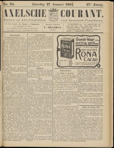 Axelsche Courant 1912-01-27