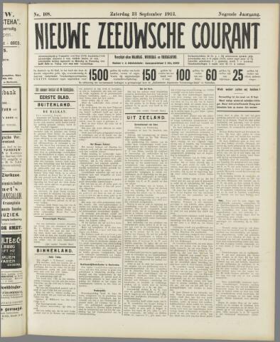 Nieuwe Zeeuwsche Courant 1913-09-13