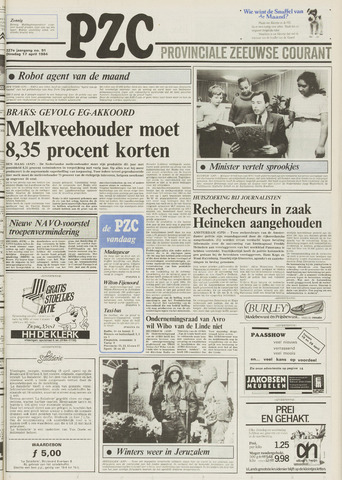 Provinciale Zeeuwse Courant 1984-04-17