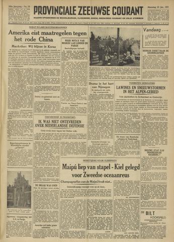 Provinciale Zeeuwse Courant 1951-01-22