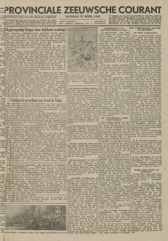 Provinciale Zeeuwse Courant 1943-04-27