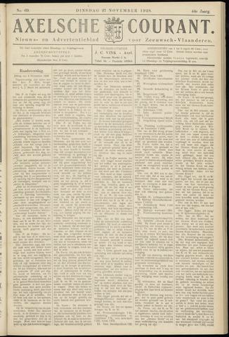 Axelsche Courant 1928-11-27