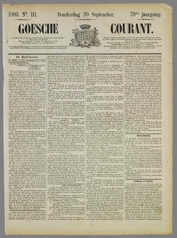 Goessche Courant 1883-09-20