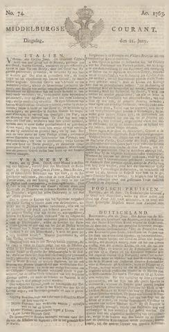 Middelburgsche Courant 1763-06-21