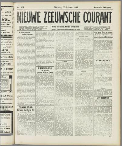 Nieuwe Zeeuwsche Courant 1911-10-17