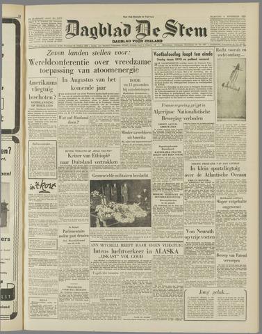 de Stem 1954-11-08