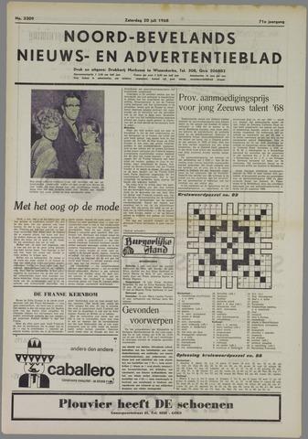 Noord-Bevelands Nieuws- en advertentieblad 1968-07-20