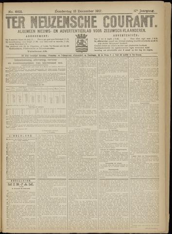 Ter Neuzensche Courant. Algemeen Nieuws- en Advertentieblad voor Zeeuwsch-Vlaanderen / Neuzensche Courant ... (idem) / (Algemeen) nieuws en advertentieblad voor Zeeuwsch-Vlaanderen 1917-12-13