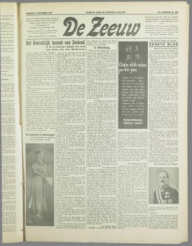 De Zeeuw. Christelijk-historisch nieuwsblad voor Zeeland 1937-09-06