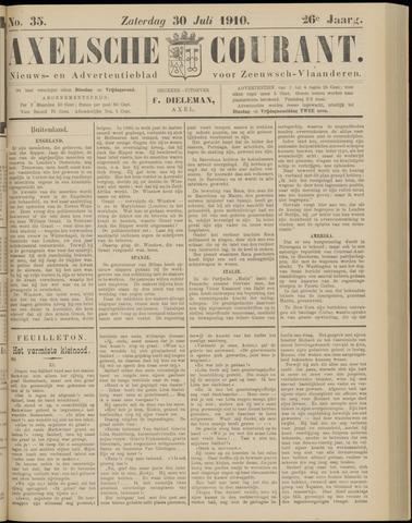Axelsche Courant 1910-07-30