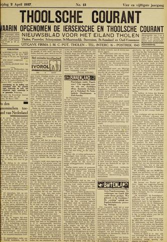 Ierseksche en Thoolsche Courant 1937-04-02