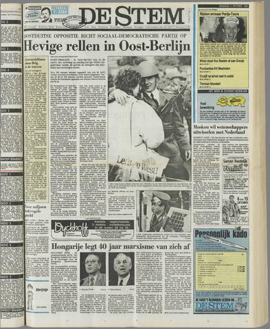 de Stem 1989-10-09