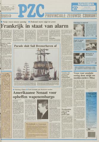 Provinciale Zeeuwse Courant 1995-07-27