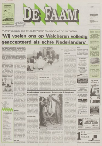 de Faam en de Faam/de Vlissinger 1992-02-05
