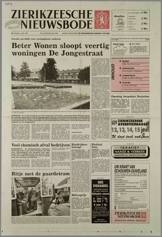 Zierikzeesche Nieuwsbode 1995-06-09