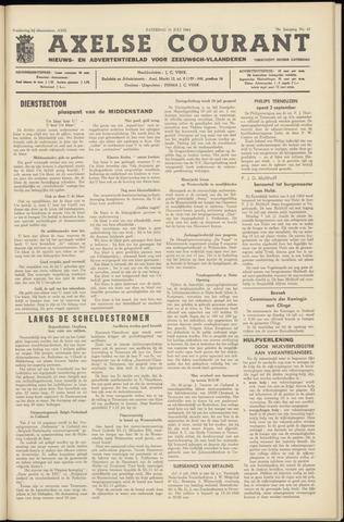 Axelsche Courant 1964-07-11