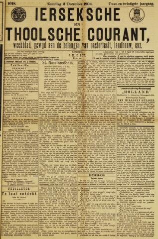 Ierseksche en Thoolsche Courant 1904-12-03