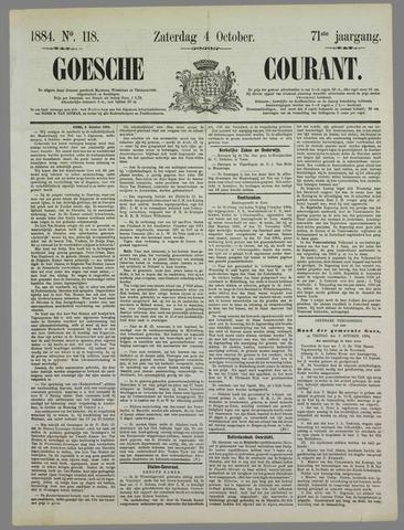 Goessche Courant 1884-10-04