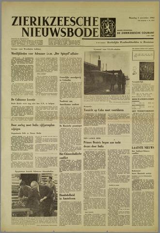 Zierikzeesche Nieuwsbode 1962-11-05