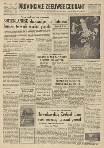 Provinciale Zeeuwse Courant 1957-12-31