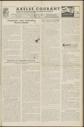 Axelsche Courant 1958-11-22