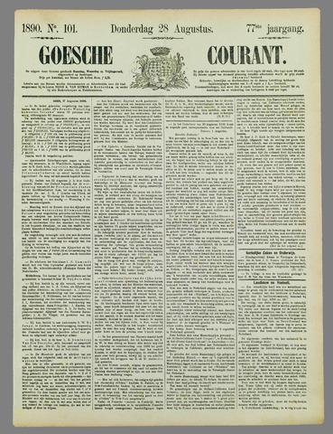 Goessche Courant 1890-08-28