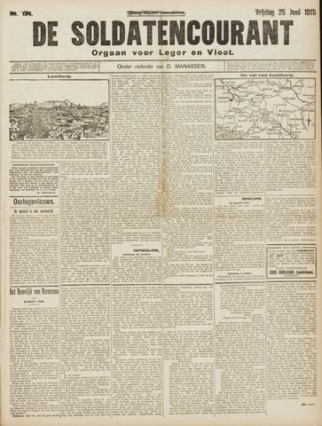De Soldatencourant. Orgaan voor Leger en Vloot 1915-06-25