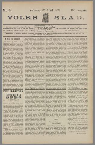 Volksblad 1922-04-22