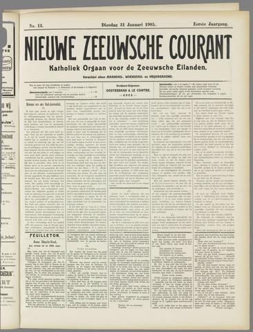Nieuwe Zeeuwsche Courant 1905-01-31