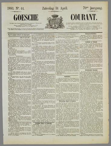 Goessche Courant 1883-04-14