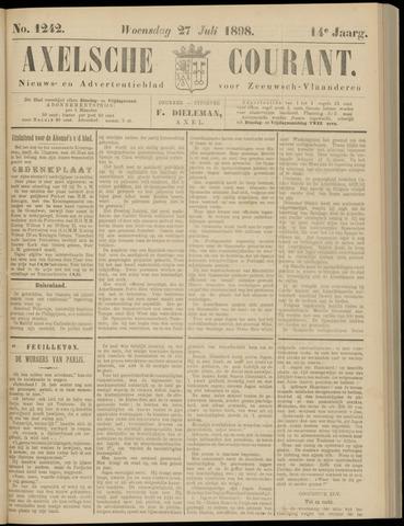 Axelsche Courant 1898-07-27