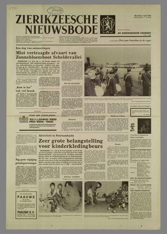 Zierikzeesche Nieuwsbode 1982-04-05