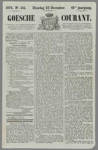 Goessche Courant 1874-12-22