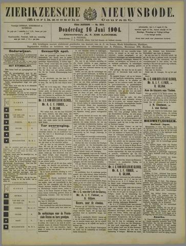 Zierikzeesche Nieuwsbode 1904-06-16