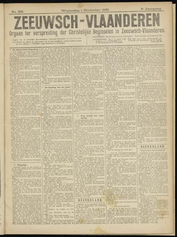 Luctor et Emergo. Antirevolutionair nieuws- en advertentieblad voor Zeeland / Zeeuwsch-Vlaanderen. Orgaan ter verspreiding van de christelijke beginselen in Zeeuwsch-Vlaanderen 1920-12-01