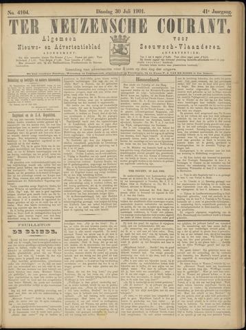 Ter Neuzensche Courant. Algemeen Nieuws- en Advertentieblad voor Zeeuwsch-Vlaanderen / Neuzensche Courant ... (idem) / (Algemeen) nieuws en advertentieblad voor Zeeuwsch-Vlaanderen 1901-07-30