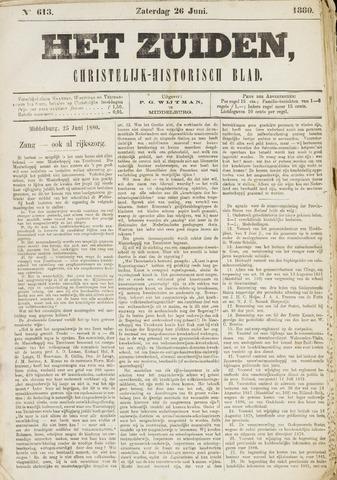 Het Zuiden, Christelijk-historisch blad 1880-06-26