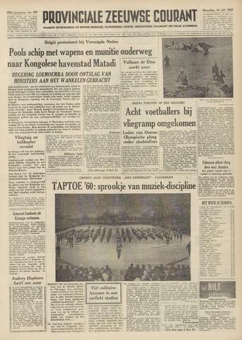 Provinciale Zeeuwse Courant 1960-07-18