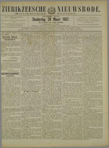Zierikzeesche Nieuwsbode 1907-03-28