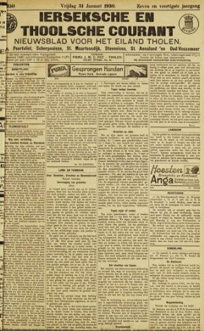 Ierseksche en Thoolsche Courant 1930-01-31