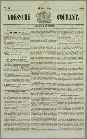 Goessche Courant 1859-03-24