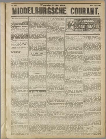 Middelburgsche Courant 1922-05-31
