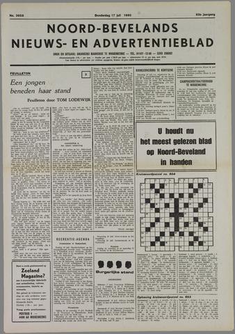 Noord-Bevelands Nieuws- en advertentieblad 1980-07-17