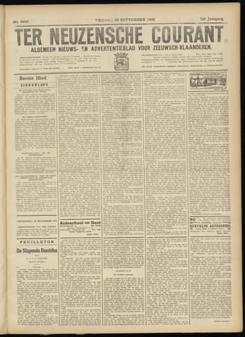 Ter Neuzensche Courant. Algemeen Nieuws- en Advertentieblad voor Zeeuwsch-Vlaanderen / Neuzensche Courant ... (idem) / (Algemeen) nieuws en advertentieblad voor Zeeuwsch-Vlaanderen 1932-09-30