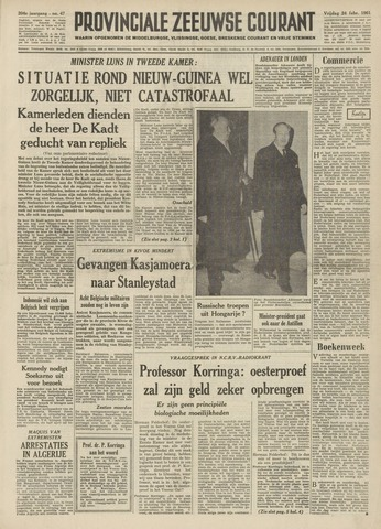 Provinciale Zeeuwse Courant 1961-02-24