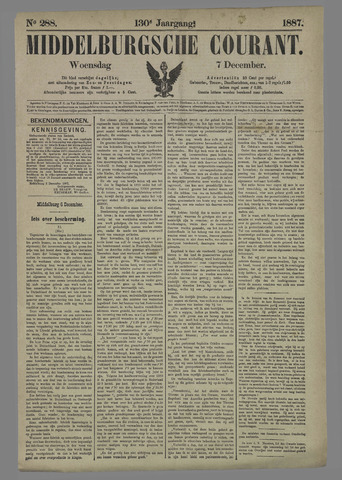 Middelburgsche Courant 1887-12-07