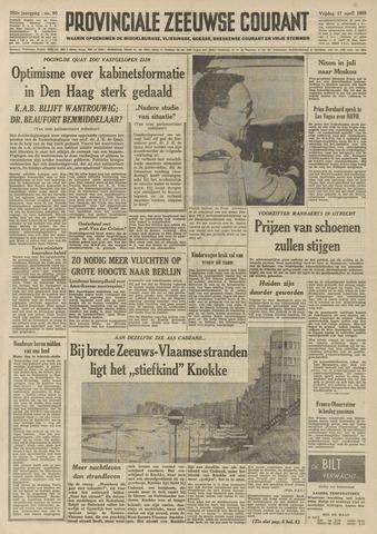 Provinciale Zeeuwse Courant 1959-04-17