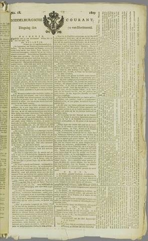 Middelburgsche Courant 1809-05-30