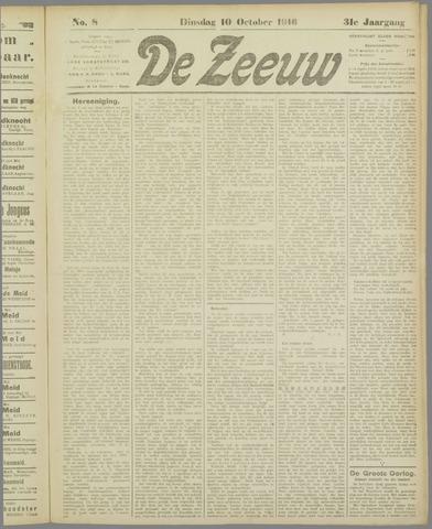 De Zeeuw. Christelijk-historisch nieuwsblad voor Zeeland 1916-10-10